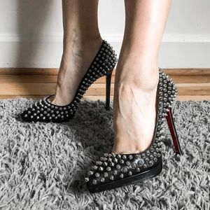 Louboutin Pigalle Plato Spikes